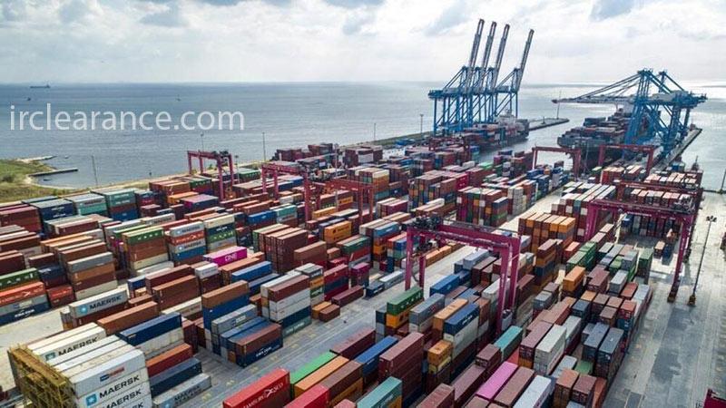 حجم واردات از چین به ایران